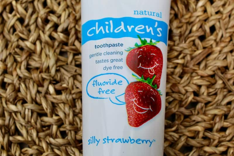 Toms of Maine SIlly Strawberry Toothpaste