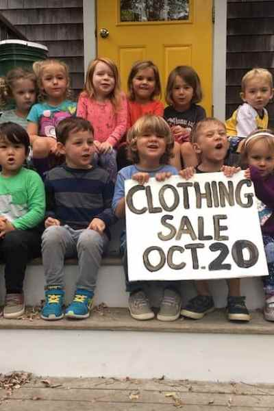 Woods Hole Child Center Clothing Sale