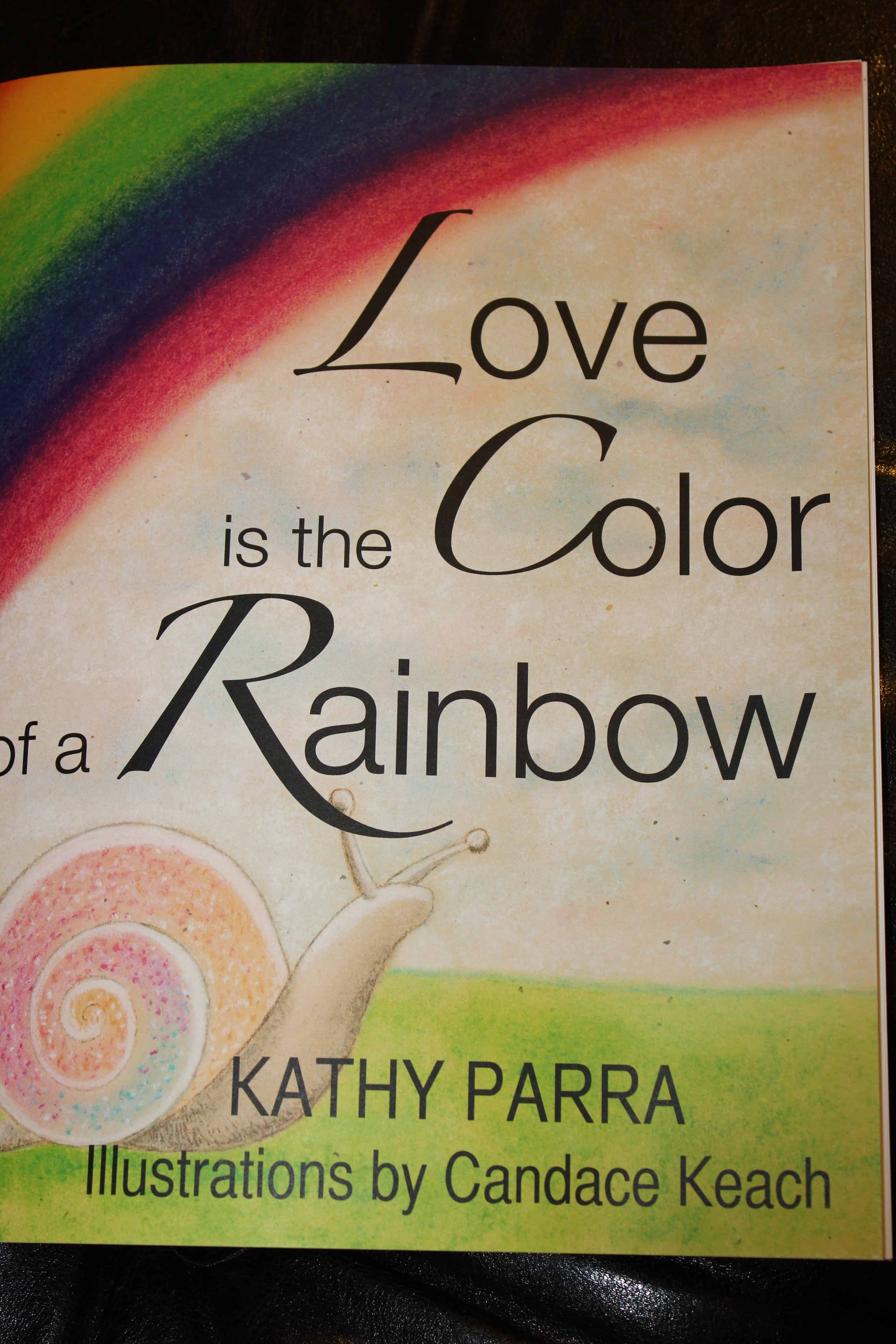 Love Is The Color Of A Rainbow With Giveaway