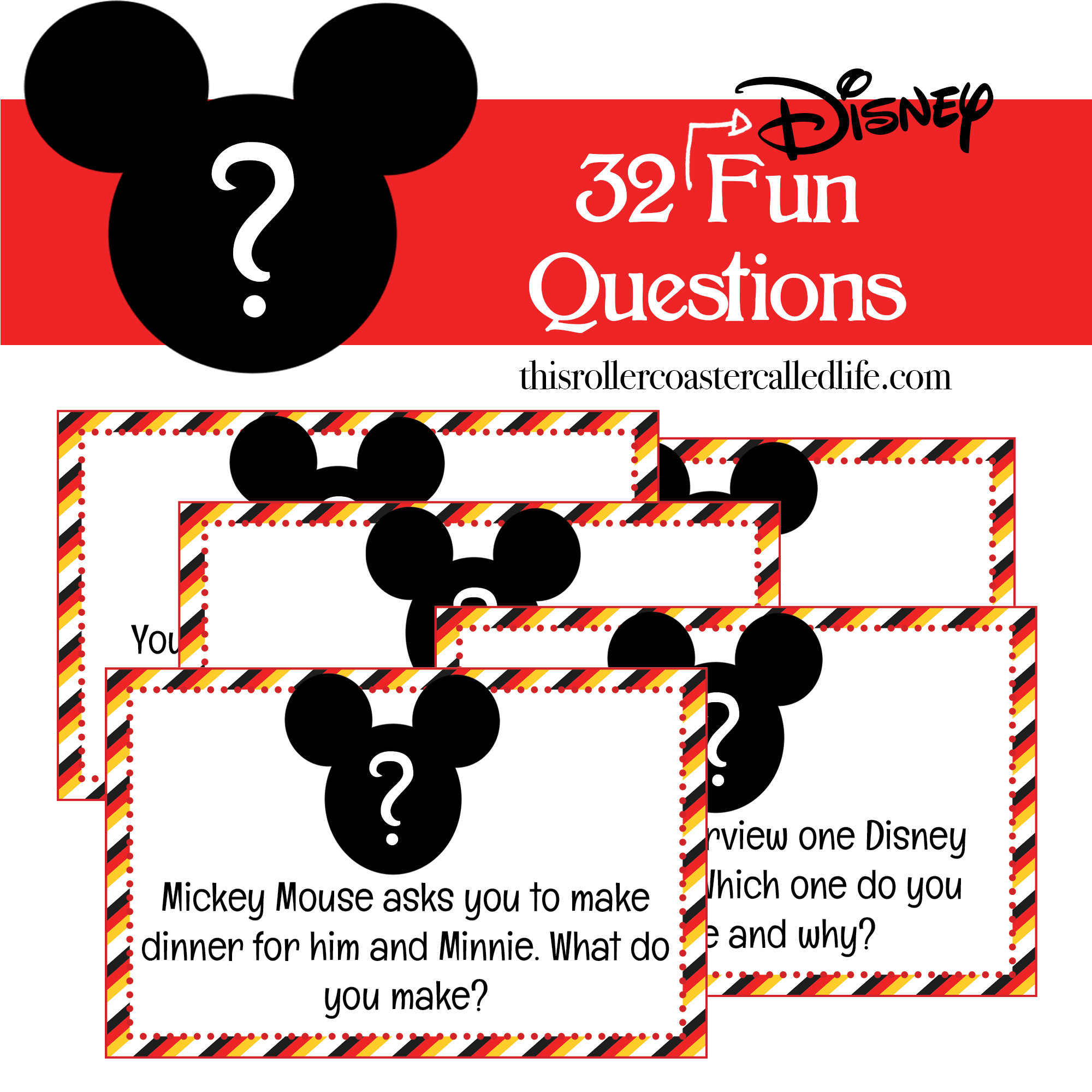 32 Fun Disney Questions