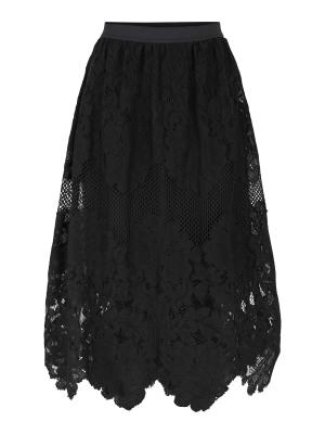 Y.A.S Lacy Midi skirt