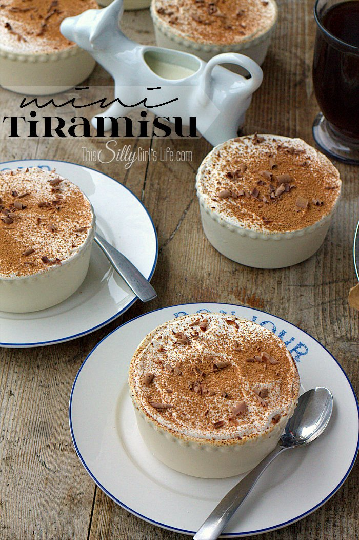 Mini Tiramisu, a make ahead recipe, perfect for an afternoon snack, yummy weeknight dessert or dinner party! - ThisSillyGirlsLife.com #McCafeMyWay #ad