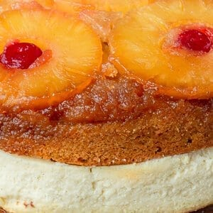 Pineapple Upside Down Cheesecake - Cheesecake Factory CopyCat