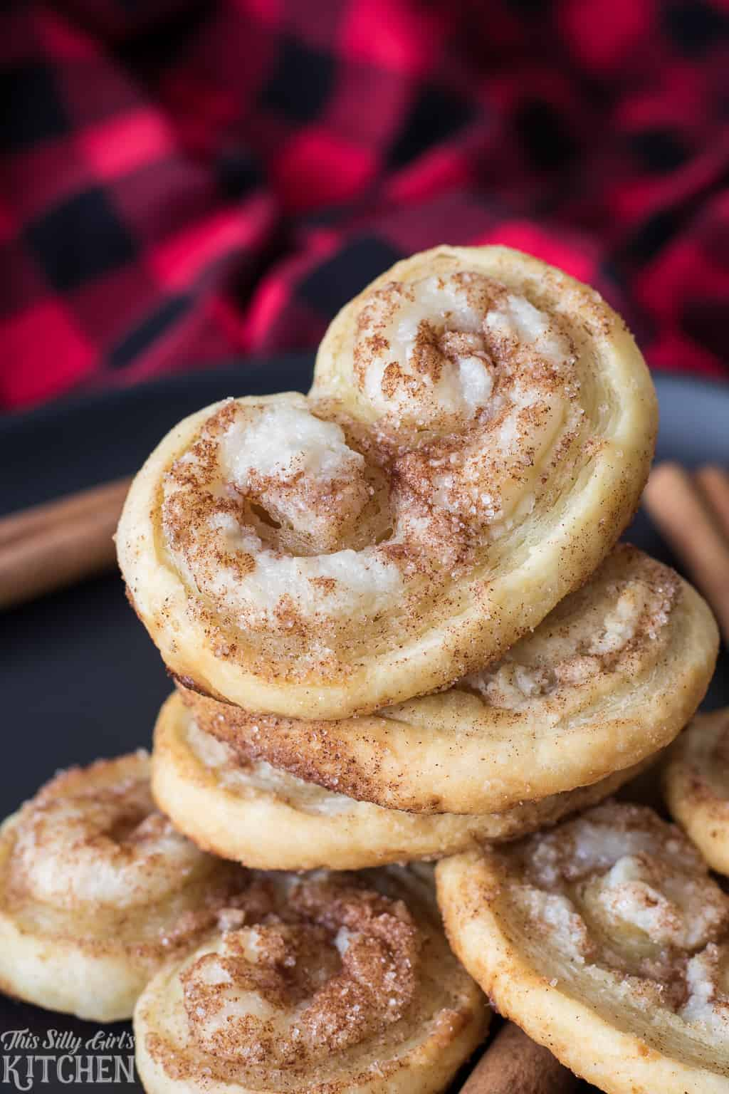 Stacked Palmier Cookies