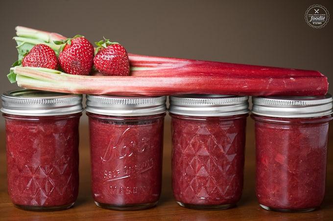 Strawberry Rhubarb Jam by Self Proclaimed Foodie