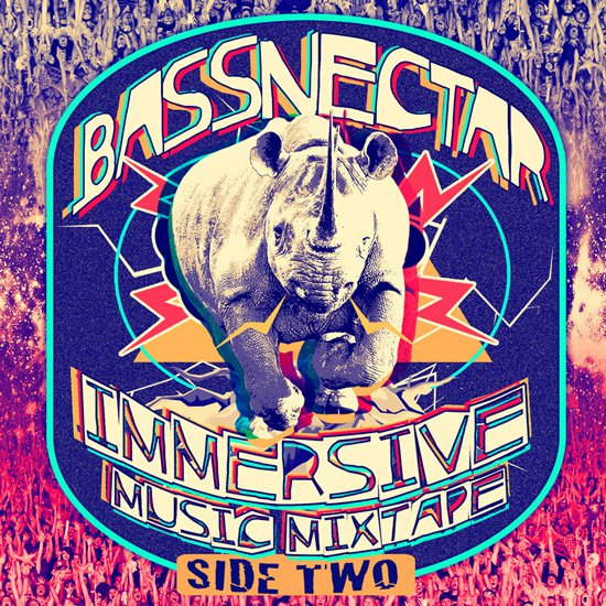 Bassnectar - Immersive Music Mixtape - Side Two : Hour Long Bass Mixtape filled with Unreleased Remixes [Free Download]