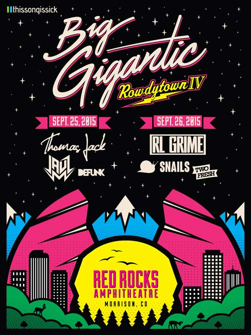 Big Gigantic & TSIS Announce Rowdytown IV Lineup Ft. RL Grime