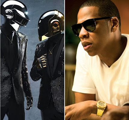 Daft Punk - Computerized (Ft. Jay-Z) (Co-Produced by Kanye West) : All Star Collaboration