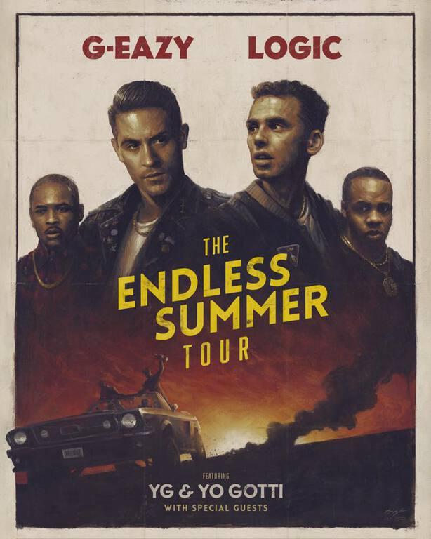 "G-Eazy & Logic Announce Collab ""Endless Summer Tour"""
