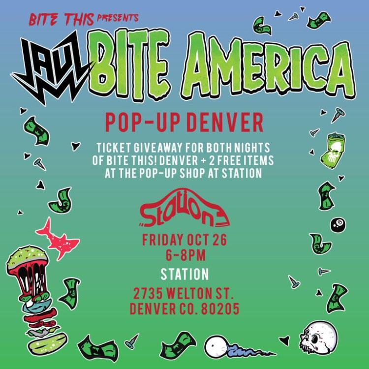 jauz bite this pop up shop