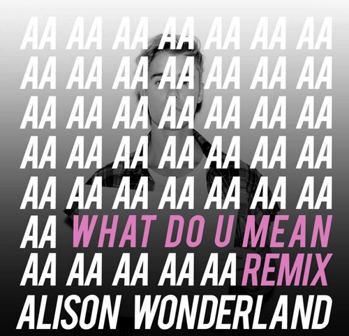Justin Bieber - What Do You Mean? (Alison Wonderland Remix) : Trap / Future Bass