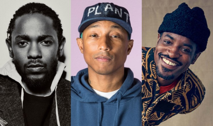 Kendrick Lamar Pharrell Williams Andre 3000