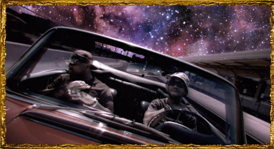 Kid Cudi - Just What I Am (Ft. King Chip) (Music Video) : Extra Trippy Hip-Hop Video