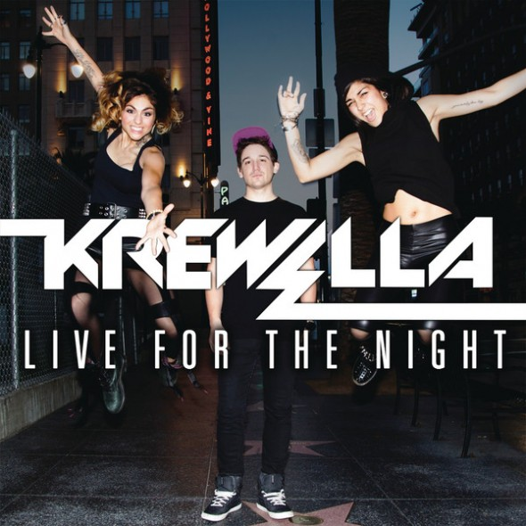 "Krewella release new single ""Live For The Night"" with bonus Chicago lyric video"