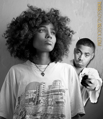 Real Sick Chill Song: Nneka ft. Nas - Heartbeat (Remix)