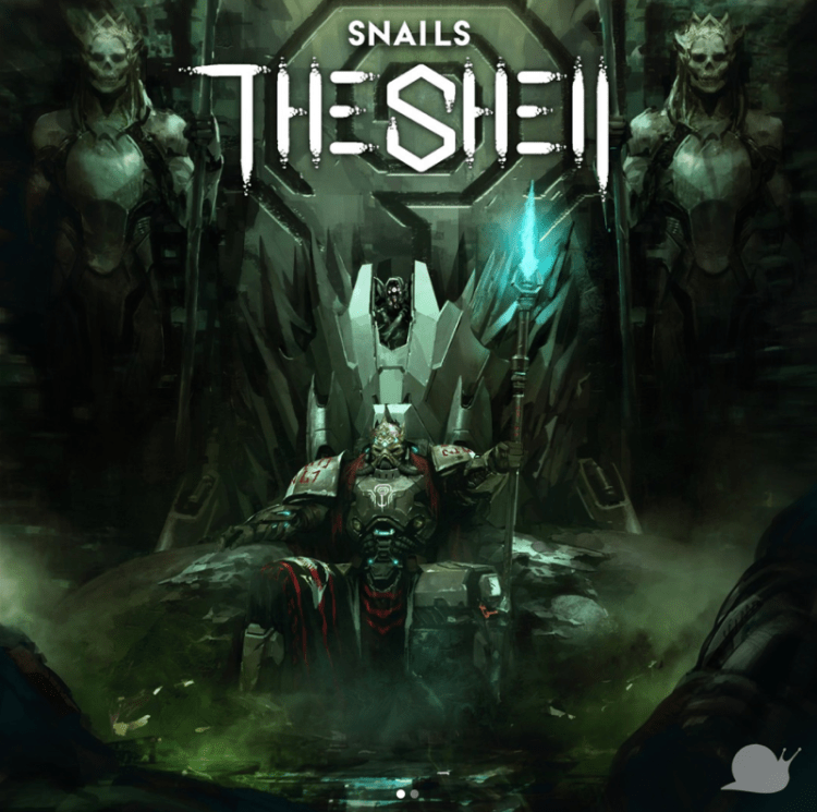 SNAILS The Shell Album Art