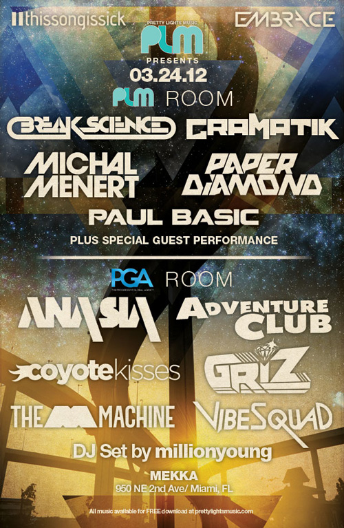 Thissongissick and PLM Present An Ultra Music Festival Late Night Party in Miami featuring A Stacked Lineup!