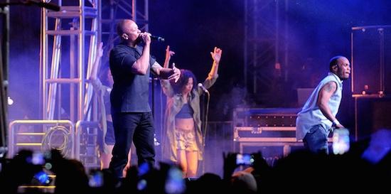 WatchAnderson .Paak BringOut Kendrick Lamar & Dr. Dre During His Coachella Set