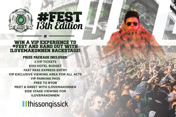 Win a VIP Experience to #FEST and Hang Out with ILOVEMAKONNEN