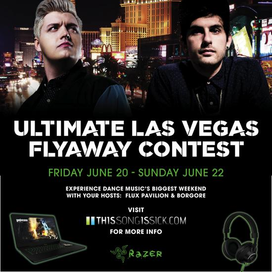 Win An All Expense Paid Trip To Vegas For Dance Music's Biggest Weekend With Flux Pavilion and Borgore