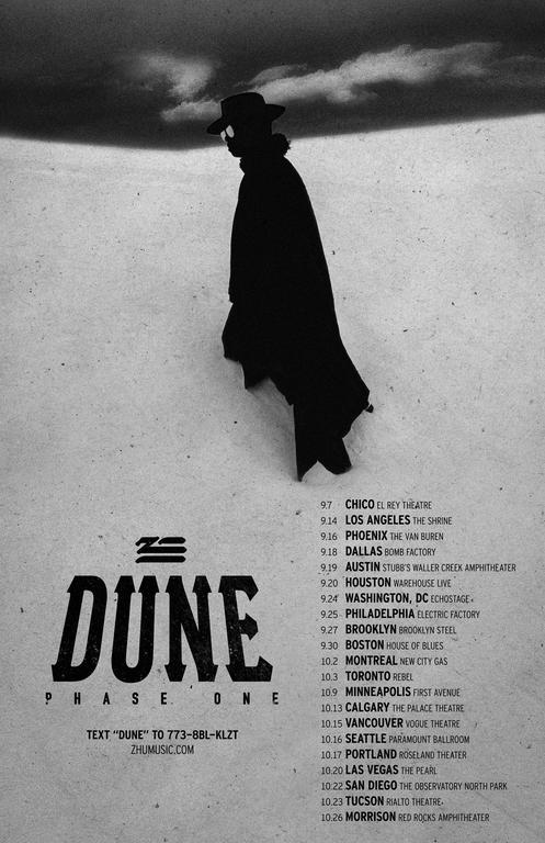 ZHU Dune tour 2018