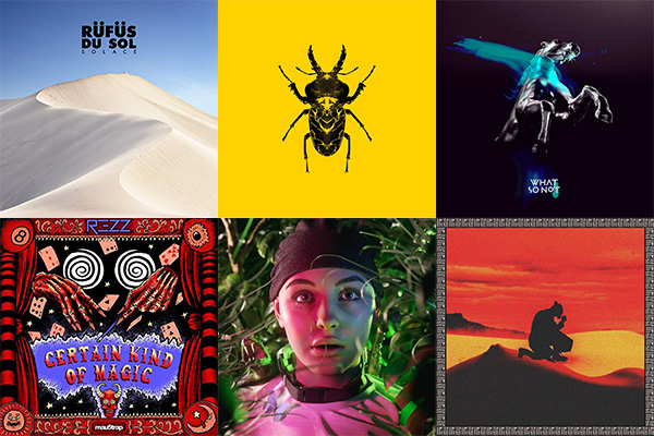 Best Electronic Albums 2018