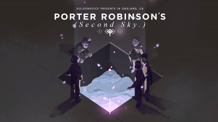 Porter Robinson's Second Sky Poster