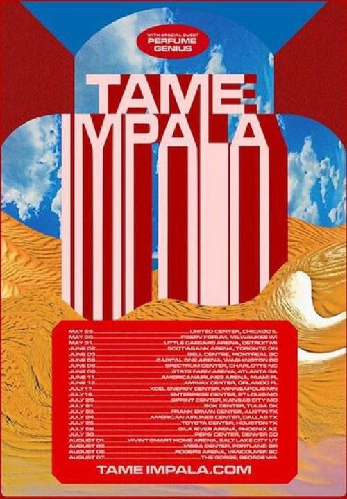 tame impala 2020 tour dates