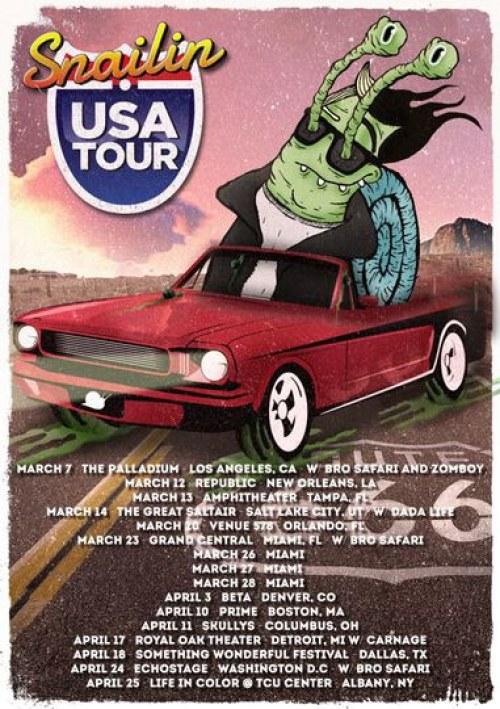 Tour America Dates