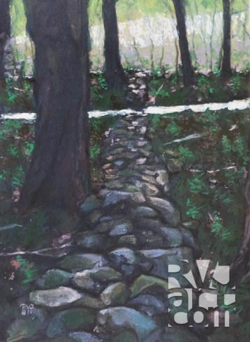 psalm 153, oil painting by Roger Vincent Jasaitis, copyright 2011, RVJart.com