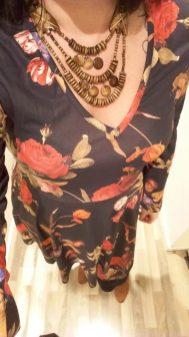 New Look floral skater dress