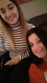 Sister selfie