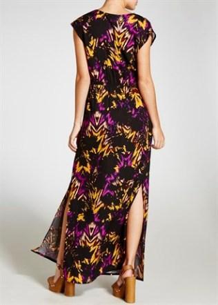 Matalan print maxi dress 2