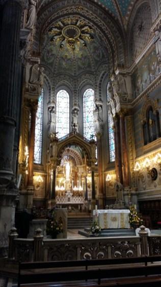 Vestry Basilica de Notre Dame Lyon