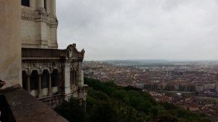 View of Lyon from Fourviere Hill