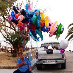 Finikounda balloon seller