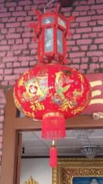 Dharmikarama Burmese temple lantern