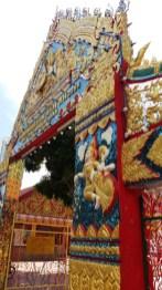 Wat Chaiyamangkalaram Thai temple entrance