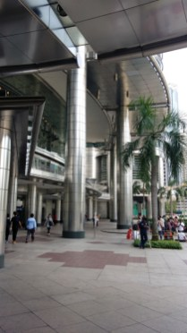 Entrance to Petronas Towers