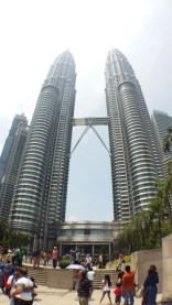 Front of Petronas Towers