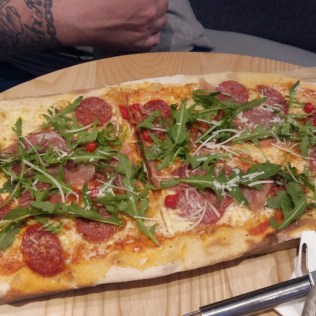 Prezzo posh pepperoni pizza