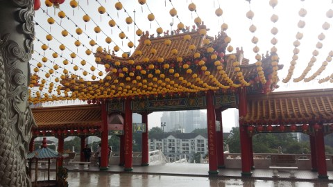 Thean Hou temple lanterns 2