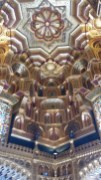 Cardiff Castle apartments ceiling