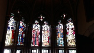 Cardiff castle stained glass windows 2