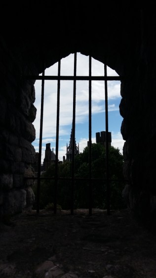 Cardiff Castle view from the Norman Keep 2