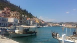 Gythio harbour