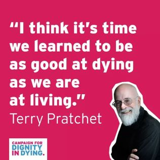 Dignity in Dying Terry Pratchett