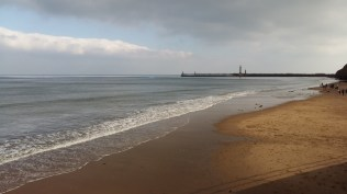 Whitby beach