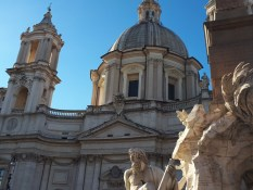 Santa Agnese in Agone church Piazza Navona