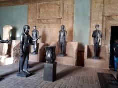 Bronze statues Vatican Museum